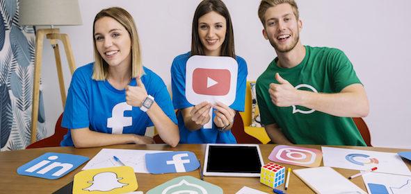 Influenciadores digitais na sua campanha de marketing