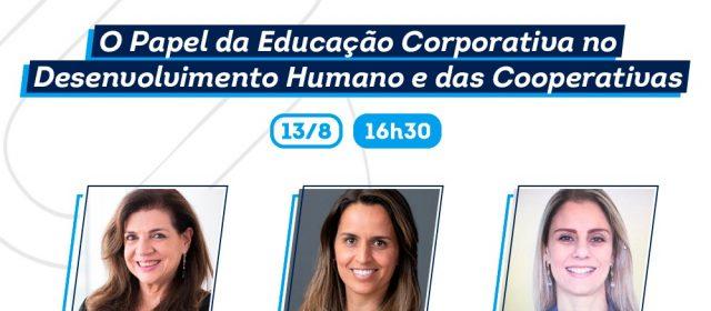 Webinar discute o papel da educação corporativa no desenvolvimento humano das cooperativas